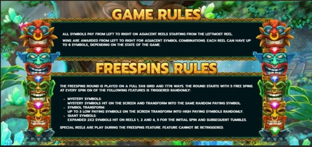 FREESPINS FEATURE Aztec Temple