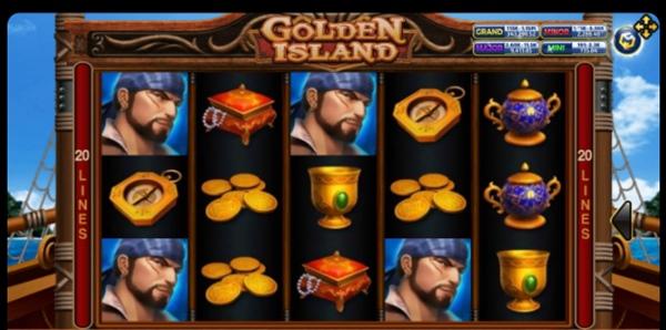 รูปสัญลักษณ์ของเกม Golden Island
