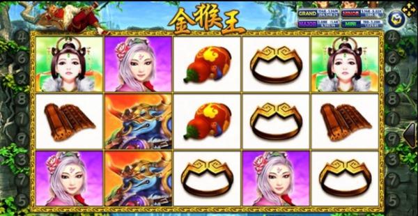 รูปสัญลักษณ์ Golden Monkey King
