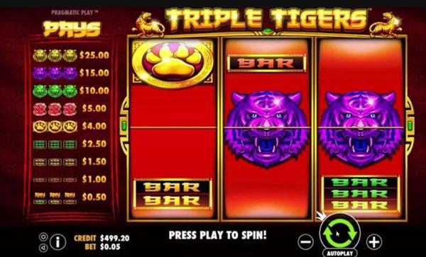 สัญลักษณ์Triple Tigers อธิบายรูปสัญลักษณ์