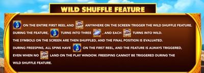Wild shuffle Feature