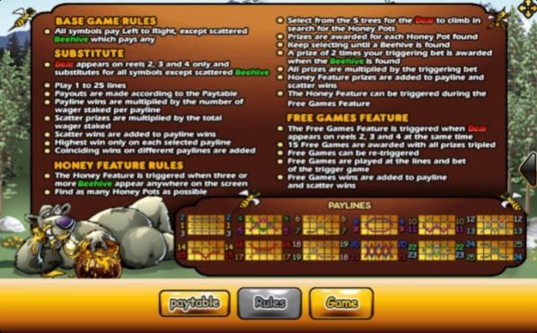 ไลน์เกมสล็อต Bonus Bear