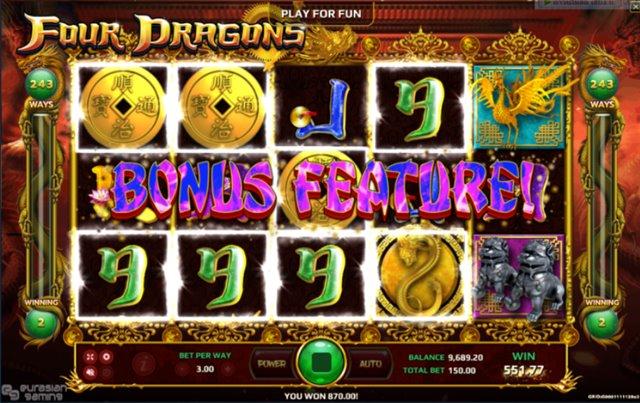 เทคนิคการเล่นสล็อต four dragons