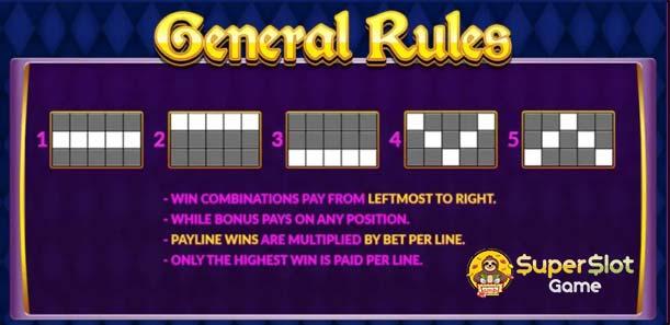 เกม Joker Jewels รูปแบบ Pay Line