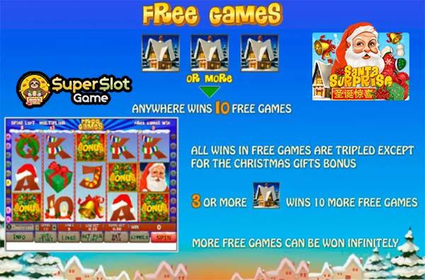 free game Santa Surprise สุดฮิตแห่งปี 2021