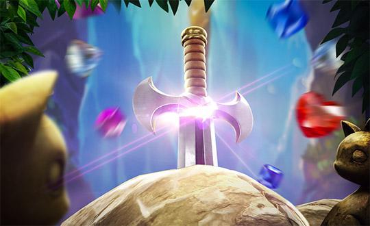 รูปแบบสัญลักษณ์ Gem Saviour Sword