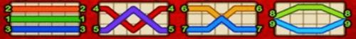 Linesgame LUCKY GOD1 ไลน์ทั้งหมดของเกม