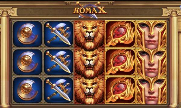 สัญลักษณ์ของเกม Roma x