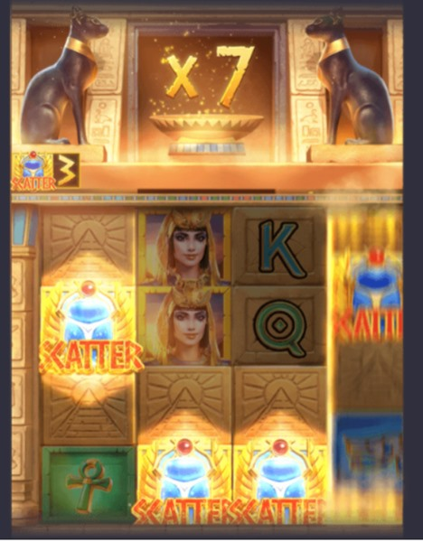 ตัวคูณของเกม Secrets of Cleopatra