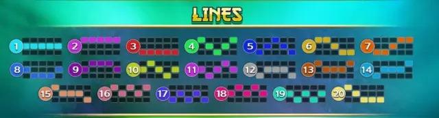 เกม Bagua 2 Pay Line