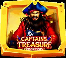 รีวิวเกมสล็อต Captains Treasure Progressive